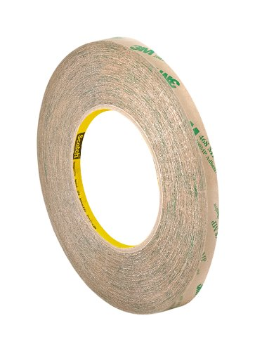 (3M 3/8-5-468MP Adhesive Transfer Tape 468MP, 0.38