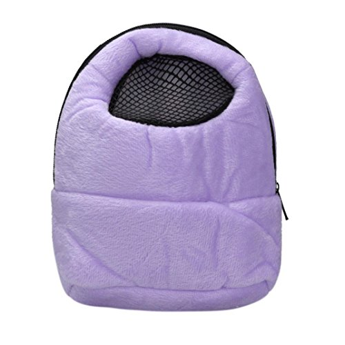 Voberry Hamster Rat Hedgehog Chinchilla Ferret Carrier Packet Bag Sleeping Hanging Bag (Rat Bag)