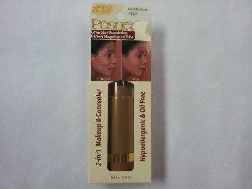 (Posner Cover Stick Foundation Light/Medium 0.35 oz)