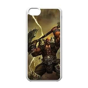 iphone5c White phone case World of Warcraft Garrosh Hellscream WOW9994320