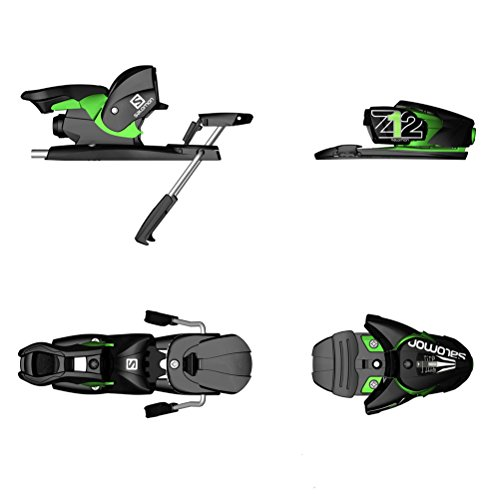 2016 Salomon Z12 Bindings (BlackGreen, 80mm)