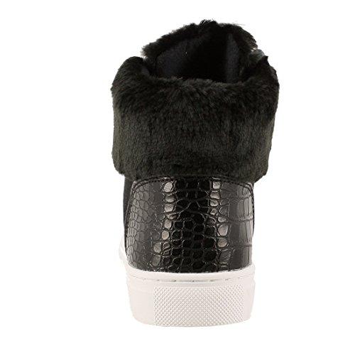 Sneaker Donna Nero nero Guess 41 75qd5Pw