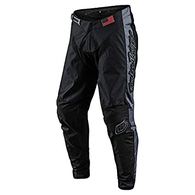 Troy Lee Designs Mens | Offroad | Motocross | GP Liberty Pants (28, Black/Gray): Automotive