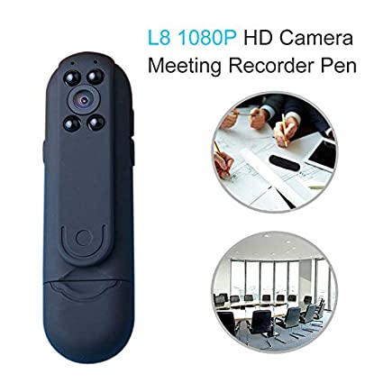Amazon.com : hd 1080p Night Vision Mini Camera Meeting Video Voice Recorder Pen 2400mah Micro Pocket Motion Detection camcorders : Camera & Photo