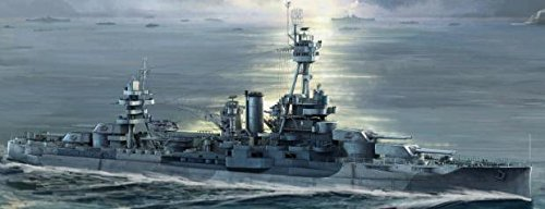 1/700 Trumpeter Uss New York Bb34 Battleship Plastic Model Kit