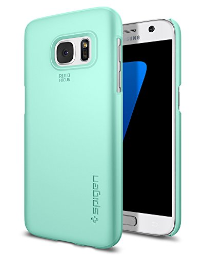 Spigen Thin Fit Galaxy S7 Case with Premium Matte Finish Coating for Samsung Galaxy S7 2016 - Mint