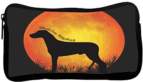 Rikki Knight Rhodesian Ridgeback Dog Silhouette by Moon N...