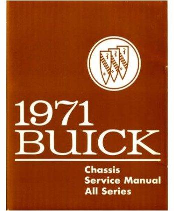 1971 Buick Full Line Service Shop Repair Manual Book