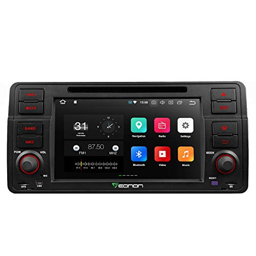 Car Stereo Radio Eonon Android 8.0 Car Stereo,in Dash Touch Screen, 4GB RAM 32GB ROM Octa-Core Applicable to 3 Series 1999,2000,2001,2002,2003 and 2004(E46) Support Dual Bluetooth, Fastboot-GA9150A