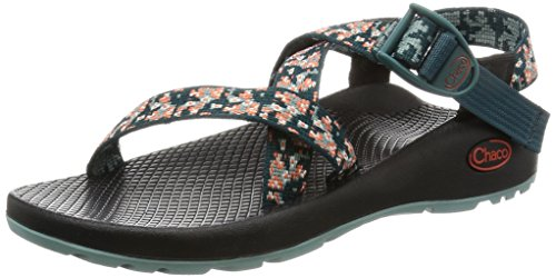 Chaco Women's Z1 Classic Athletic Sandal, Trellis Teal, 8 M US by Chaco