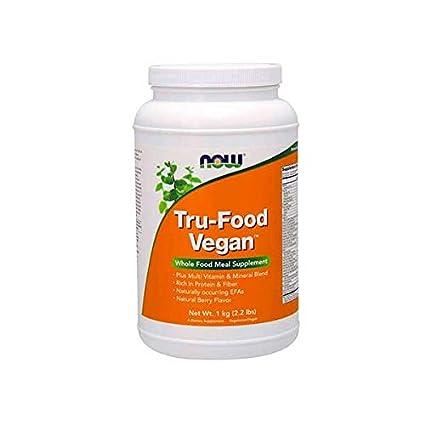 Now Foods TRU-FOOD VEGAN 1Kg - Proteínas veganas, vitaminas ...