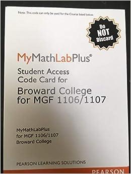 mymathlabplus broward