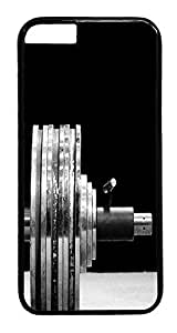 ACESR Barbell iPhone 6 Hard Case PC - Black, Back Cover Case for Apple iPhone 6(4.7 inch)