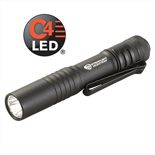 - Streamlight LED Penlight, Aluminum, Maximum Lumens Output: 45, Black, 3.60