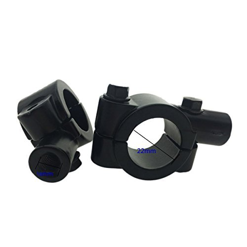 Clip On Motorcycle Mirrors - 2