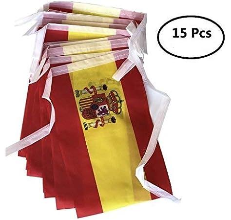 Durabol Bandera de Historia España (14X21CM Cadena de banderines España): Amazon.es: Hogar