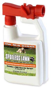 Spotless Lawn - Dog Spot Aid - 1 Quart RTU (Best Lawn For Dogs)