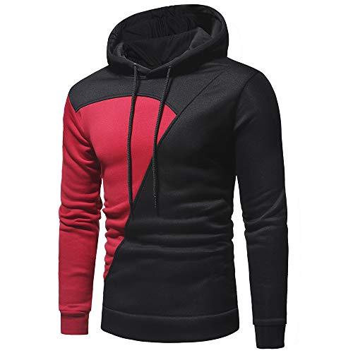 Sweatshirt Manches Shirt over Capuche Rouge Sapeur Top Patchwork Homme Fila❤️sweatshirt A Chemisier Velour Longues Pompier Sweat Pull Hoodie 1PU1rwSq