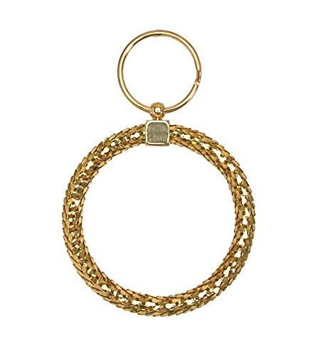 Whiting & Davis Oversize Circle Jailer Key Ring (Jailers Keys)