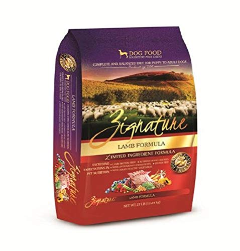 417n2WjOopL - Zignature Lamb Dry Dog Food