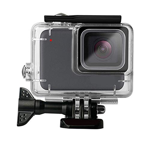 (Waterproof Case for Gopro Hero 7 Silver/White, Protective Rotective Underwater Dive Case Cover Housing for Go Pro Hero 7 Silver/White)