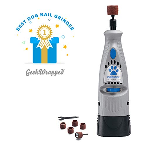 Dremel 7300-PT 4.8V Pet Nail Grooming Tool (Best Nail Grinder For Small Dogs)