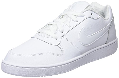 Nike Herren Ebernon Low Basketballschuhe Mehrfarbig (White/White 100)