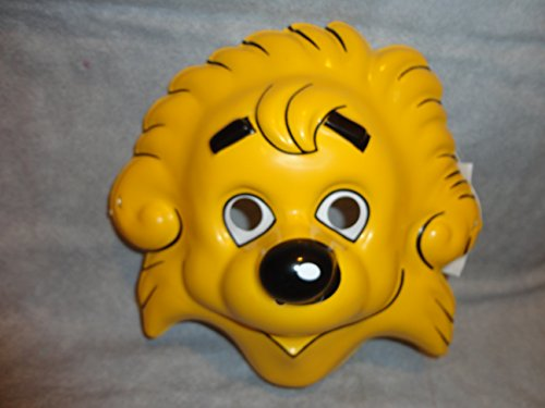 Berenstain Bear Brother Bear Cartoon PVC Mask Kid Size Rubies Halloween Dress -