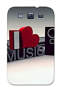 Excellent Galaxy S3 Case Tpu Cover Back Skin Protector Pc Music by mcsharks