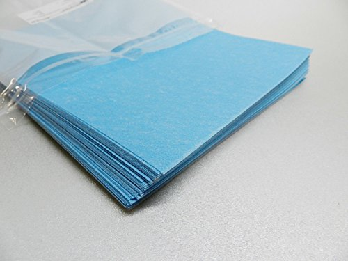 3M Tri-Mite Wet or Dry 1200 Grit 9 Micron Blue Polishing Paper Pack of 50 Sheets (11E) by NOVELTOOLS (Image #3)