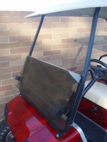- Tinted Windshield for Club Car Golf Cart 1982 to 2000