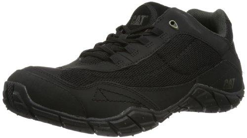 Caterpillar INFLUX P71726 Herren Sneaker Schwarz (Black)