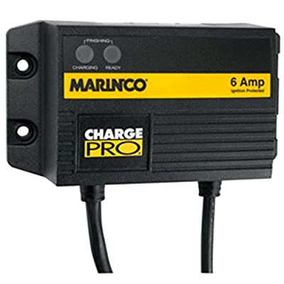 Marinco 28106 6A 12V On-Board Battery Charger 1-Bank Electronics Accessories