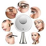 EVOLVICO 9 inch Lighted Round Makeup Vanity