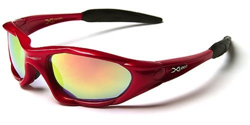 X Loop High Profile Runners Cycling Sunglasses (Gunmetal) (Spiky Blonde Wig)