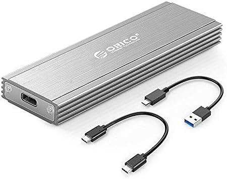 ORICO Carcasa Externa SSD M.2 NVME Caja de Aluminio und Adaptador de PCIe a USB
