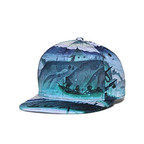 LONIY Brand Original Design 3D Printing Men Women Couple Baseball Cap Spring Summer Autumn Hats Snapback Caps]()