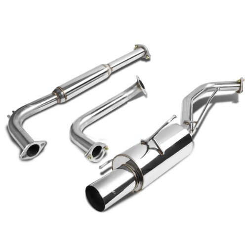 For Nissan Maxima Catback Exhaust System 4 inches Tip Muffler - A33 V6 ()
