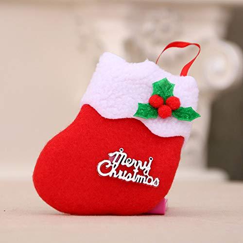 GzxtLTX-Socks,Christmas Decorations New Year Gifts Santa Snowman Socks Christmas Socks Gift (Red) by GzxtLTX-Socks (Image #1)