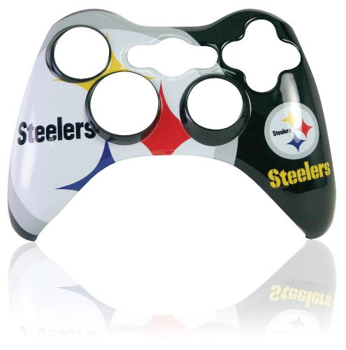 Xbox 360 Official NFL Pittsburgh Steelers Controller Faceplate