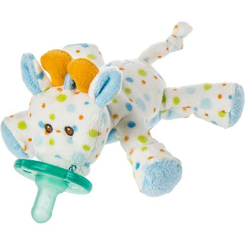Giraffe Polka Dot Blankets - Mary Meyer Wubbanub Little Stretch Giraffe