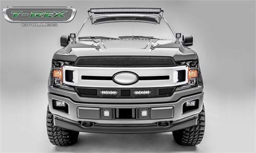T-Rex Grilles 6315691-BR Stealth Torch Series LED Light Grille Fits 18 F-150