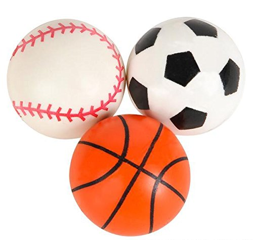 33MM (1.25'') SPORT BALL HI BOUNCE BALL, Case of 576