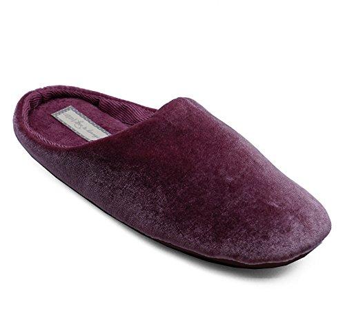 HeelzSoHigh Damen Rosa Zum Reinschlüpfen Bequem Pantolette Warm Innen Außen Pantoffeln Hausschuhe Größen 3-8