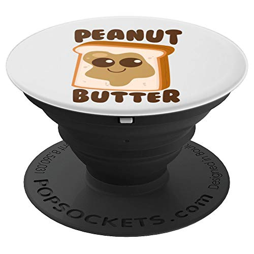 Peanut Butter Matching Halloween Costume Set DIY Jelly Art - PopSockets Grip and Stand for Phones and Tablets -