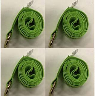 product image for Safe 'n Secure 10ft Diamond Weave Lasso Strap with O-Ring (Blue) (Hi-Viz Green, Four)