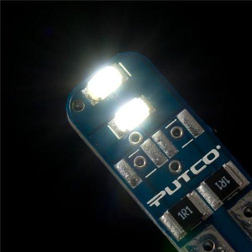 Putco 280002W Type B White LED Stick Replacement Bulb - Pair