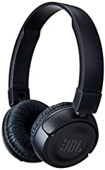 Powerful Big-Stage Bass and No Strings AttachedIntroducing JBL T450BT on-ear wireless headphones. They're flat-folding lightweight comfortable and compact. Under the hood a pair of 32mm drivers punch out some serious bass reproducing the powe...