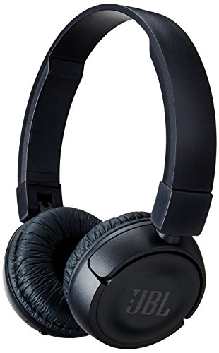 (JBL T450BT Wireless On-Ear Headphones with Built-in Remote and Microphone (Black))