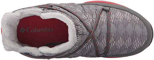 Columbia Women's Loveland Shorty Omni-Heat Print Snow Boot, Light Grey/Burnt Henna, 7.5 B US by Columbia (Image #8)